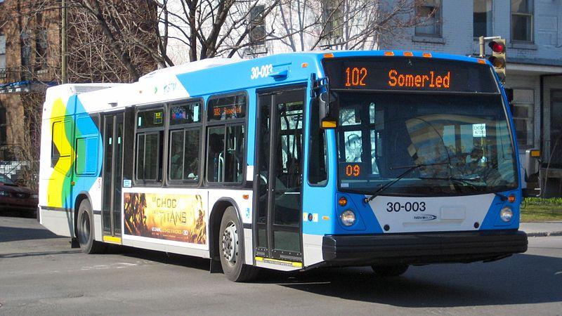 몬트리올 버스